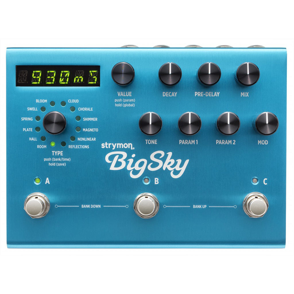 Strymon BigSky Multidimensional Reverb (Open Box)