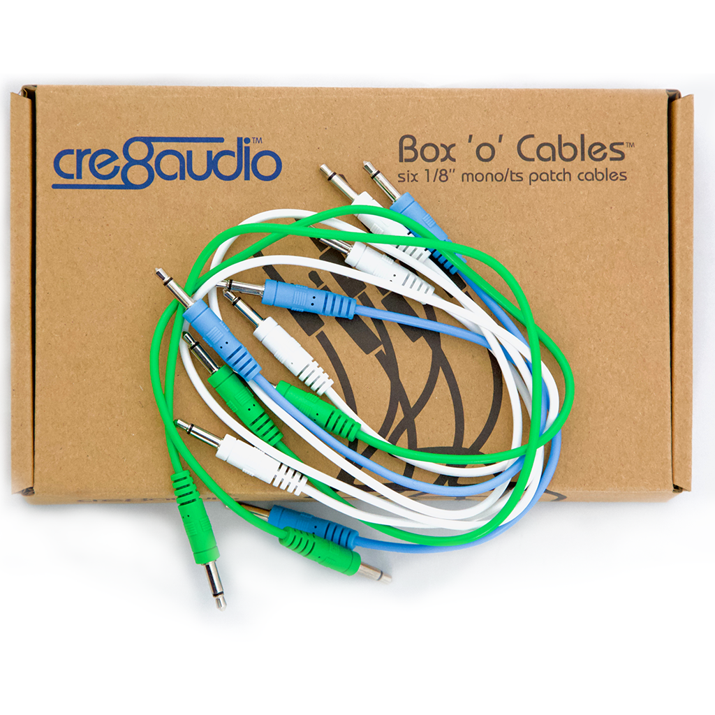 Cre8Audio Box o' Cables (6-pack)