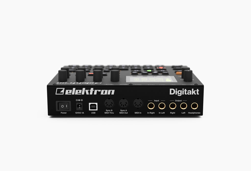 Elektron Digitakt 8-voice Drum Computer and Sampler
