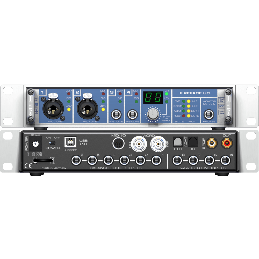RME Audio Fireface UC Audio Interface
