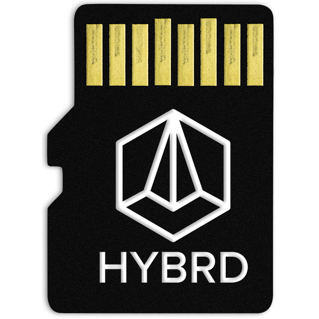 Tiptop Audio ONE Sample Player Card: HYBRD