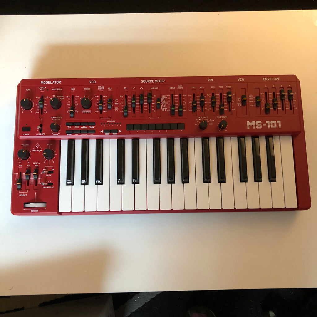 Used Behringer MS-101