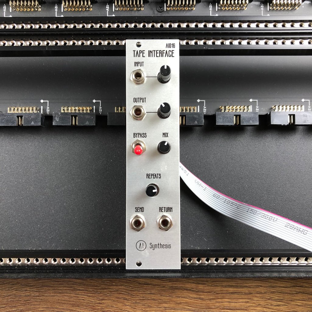 Used AI Synthesis Tape Interface