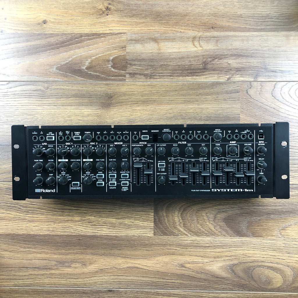Used Roland System 1M with SH-101 Plugout