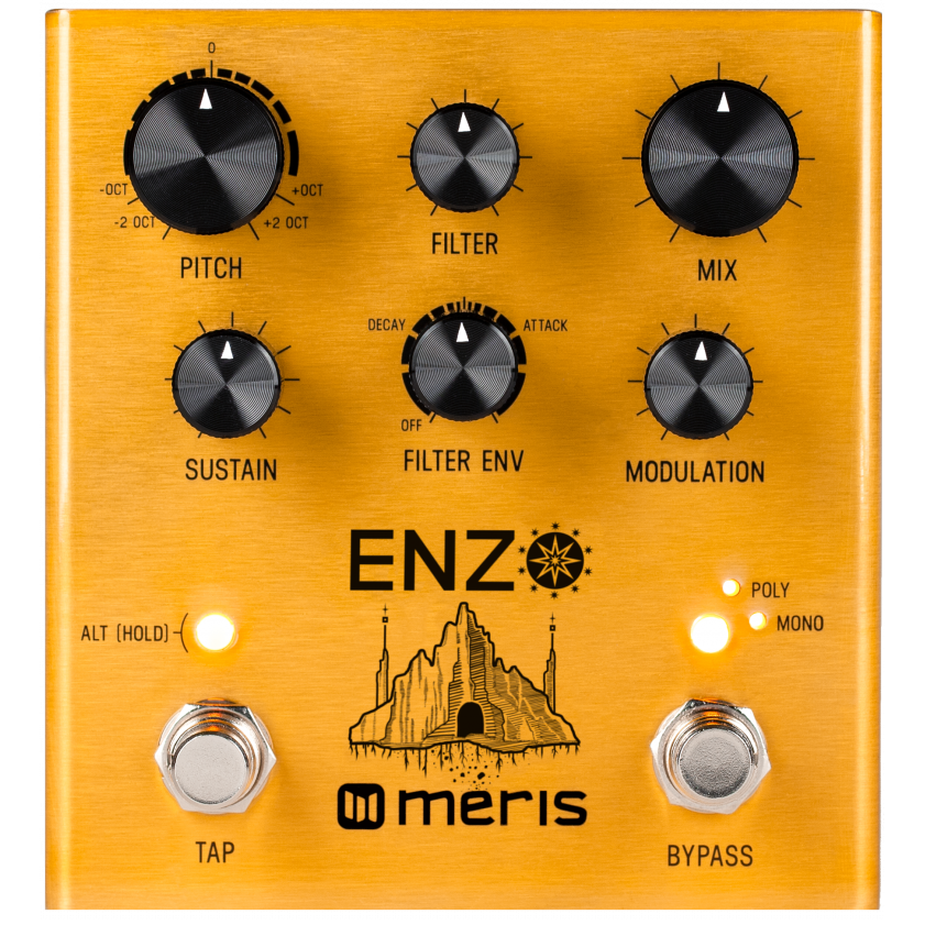 Meris Enzo Multi-Voice Synthesizer Pedal (Open Box)