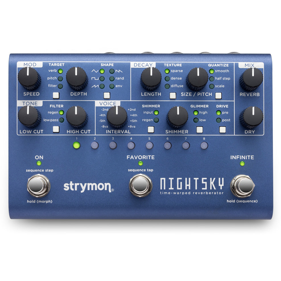 Strymon Nightsky Time-Warped Reverb Pedal