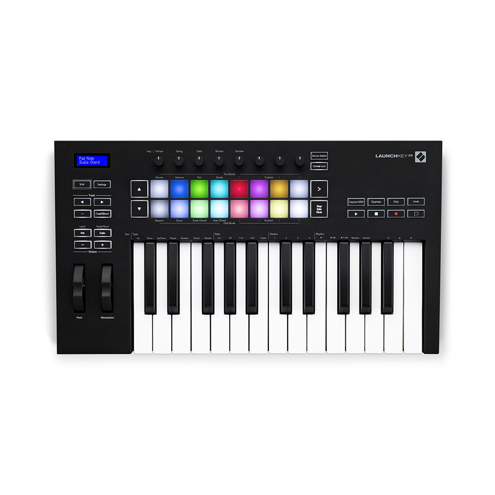 Novation Launchkey 25 mk3 Controller