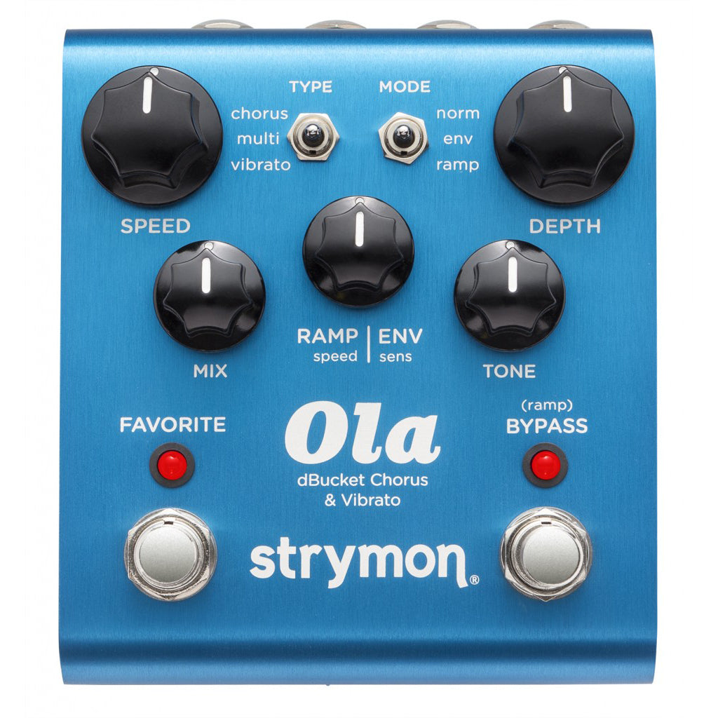 Strymon Ola dBucket Chorus and Vibrato