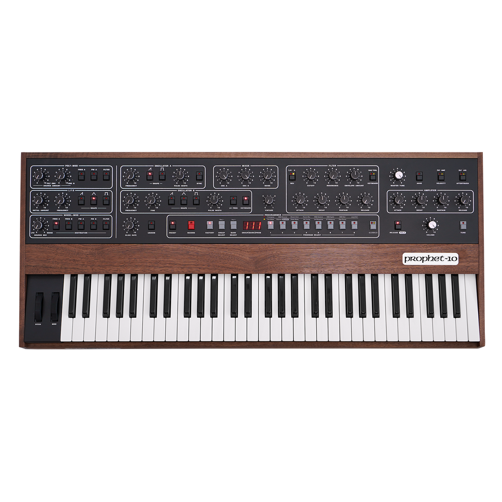 Sequential Prophet-10 Synthesizer