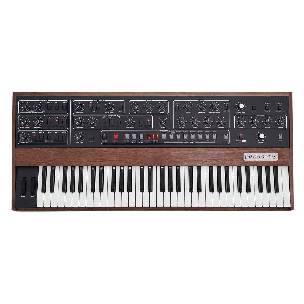 Sequential Prophet-5 Rev4 Synthesizer