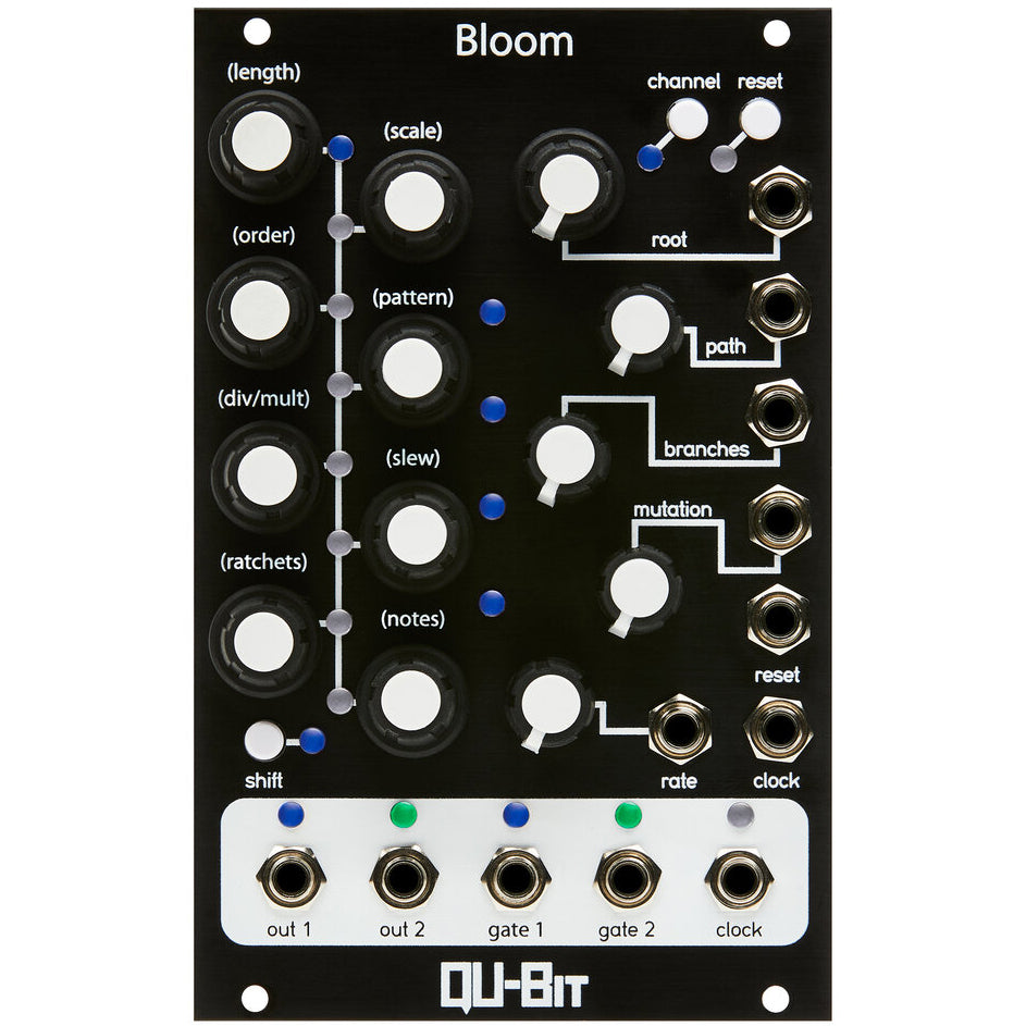 QU-Bit Bloom Fractal Sequencer