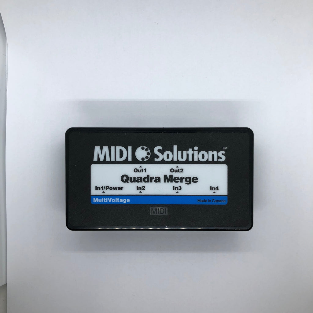 Used MIDI Solution Quadra Merge