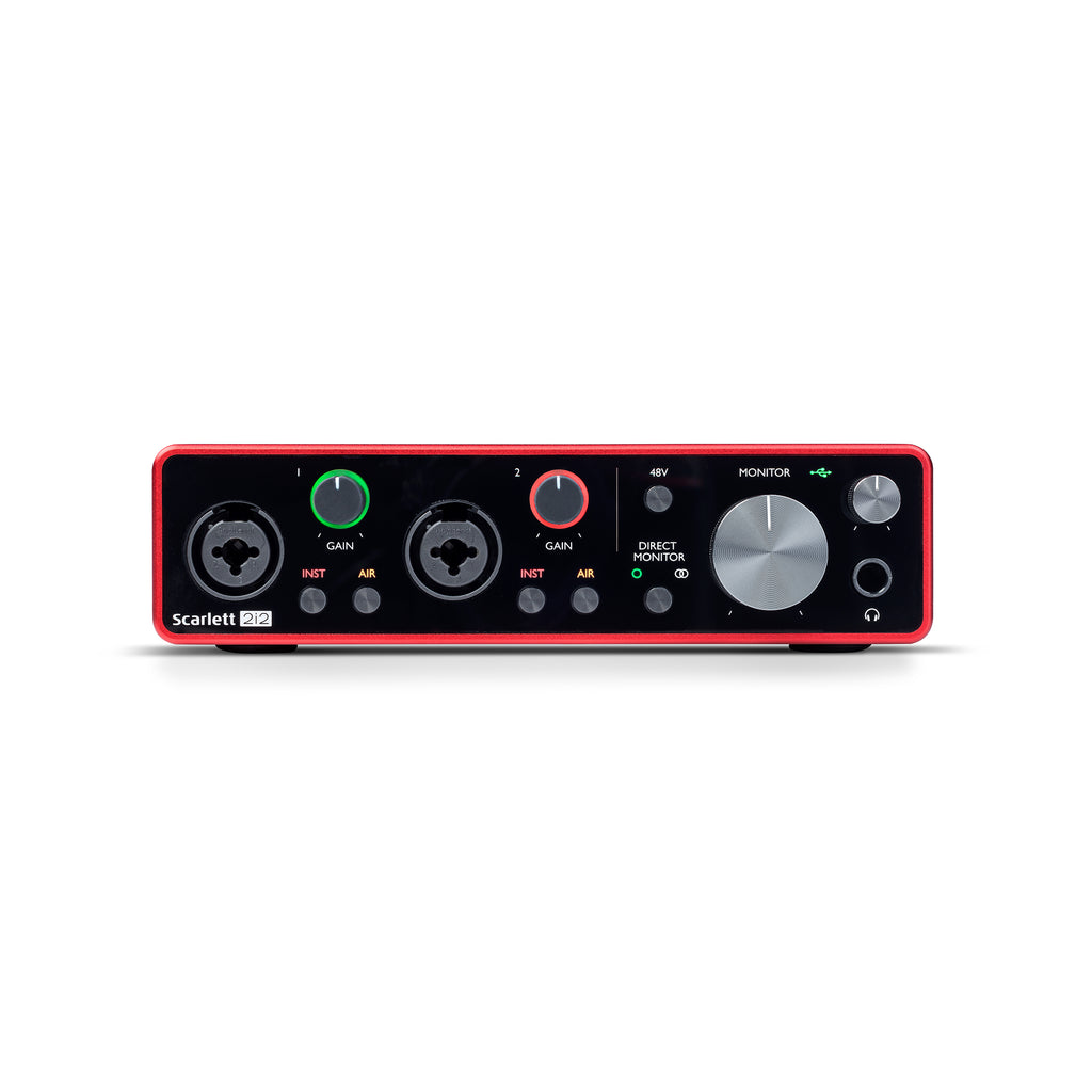 Focusrite Scarlett 2i2 3rd Gen 2-in, 2-out USB audio interface