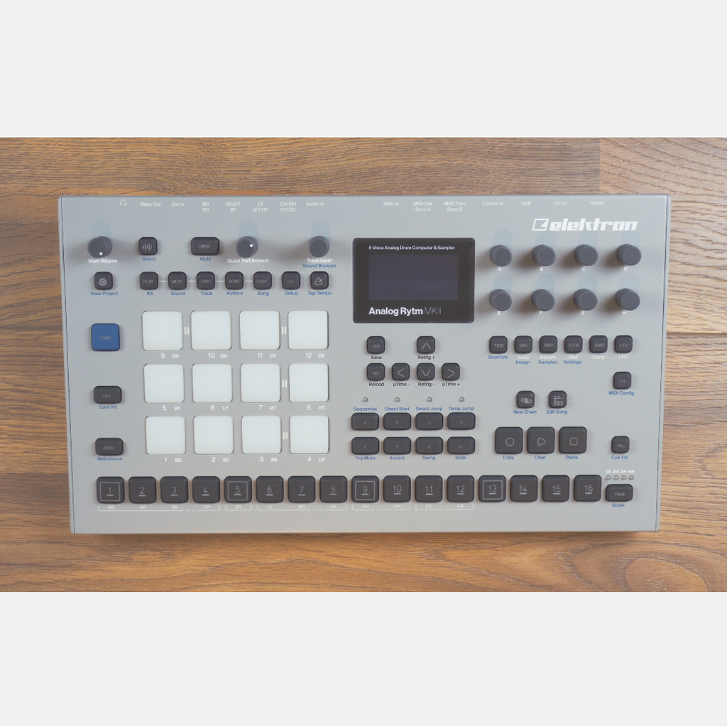Used Elektron Analog Rytm MKII Gray