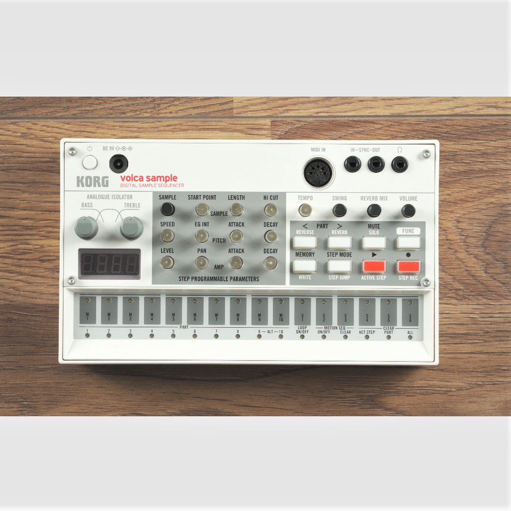 Used Korg Volca Sample V1