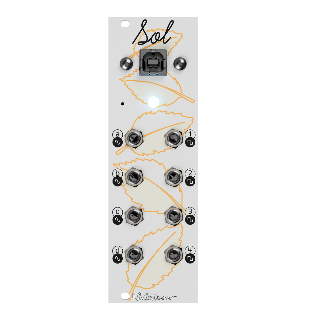 Winterbloom Sol Programmable USB MIDI to CV