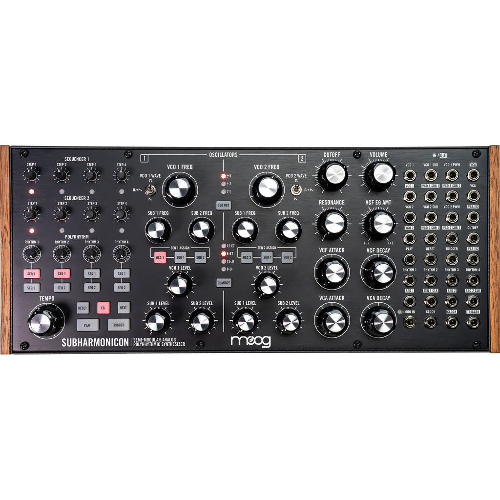 Moog Subharmonicon Semi-Modular Synthesizer
