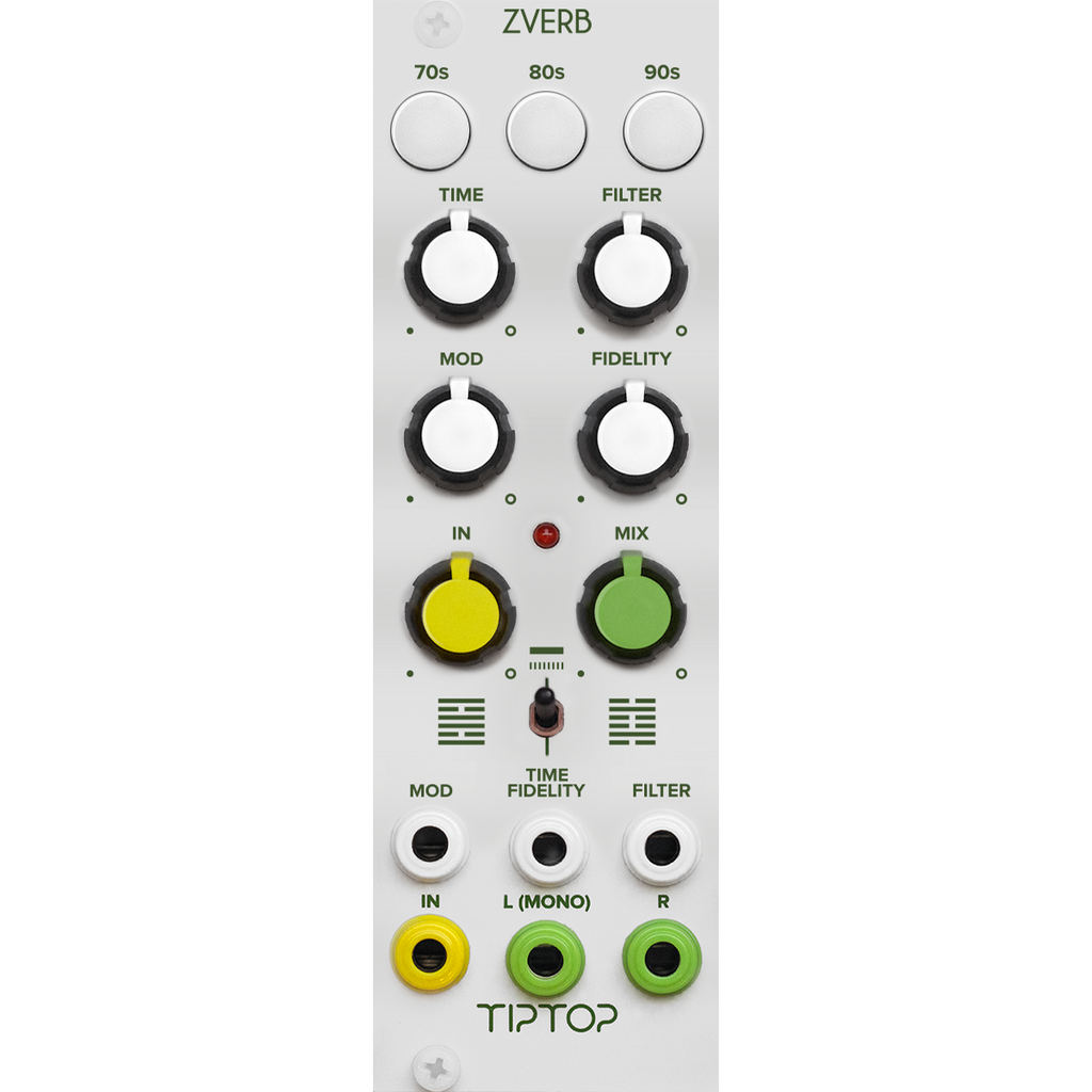 Tiptop Audio ZVERB Reverb Module (white)