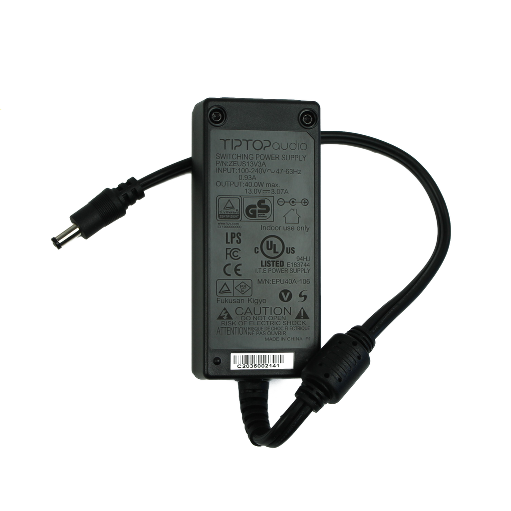 Tiptop Audio 3000mA uZeus Boost / Mantis Power Adapter