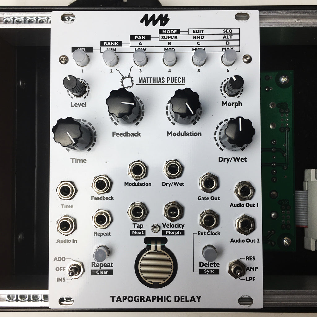 Used 4MS Tapographic Delay