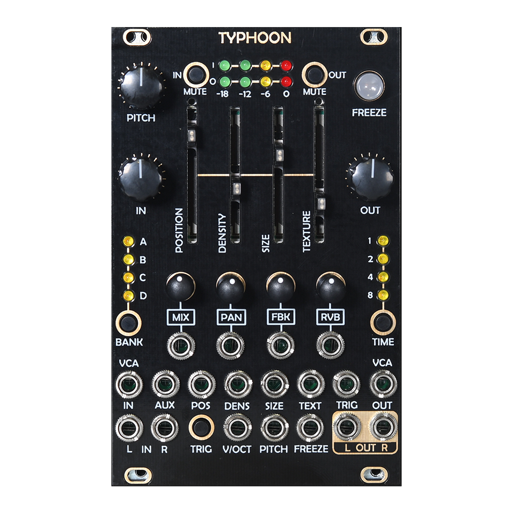 After Later Audio Typhoon (Clouds) Granular Processor (Open Box)