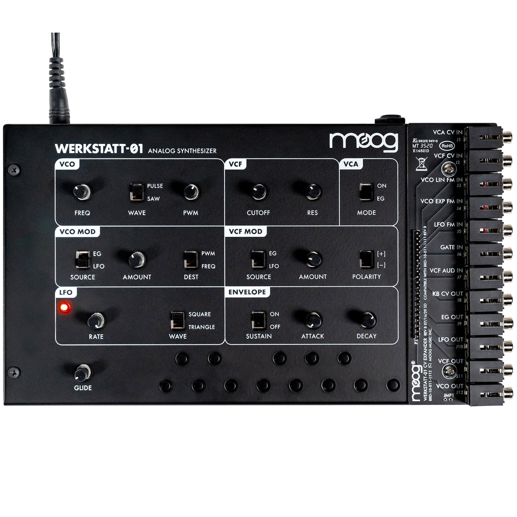 Moog Music Werkstatt-01 Synthesizer with CV Expander