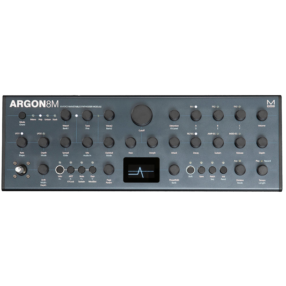 Modal Electronics Argon8M Wavetable Synth Module
