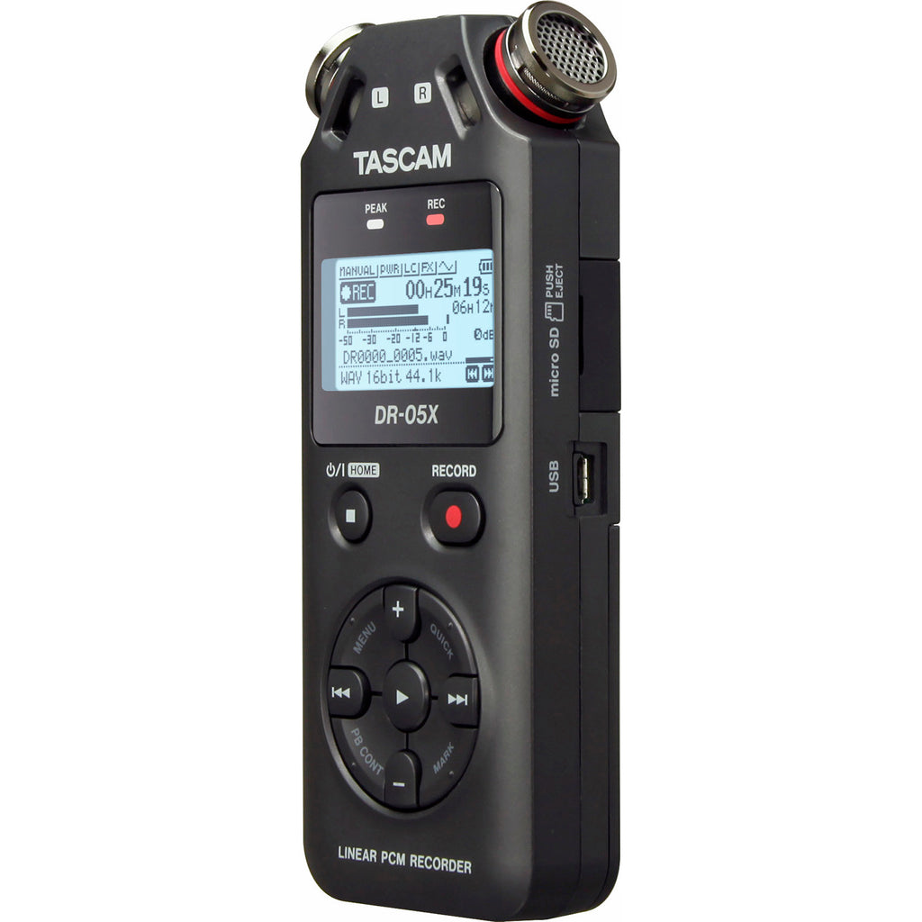 Tascam DR-05X Audio Recorder and USB Interface
