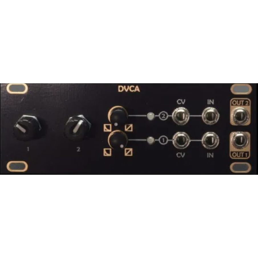 After Later Audio Antumbra DVCA - Dual VCA in 1U Intellijel - Micro Mutable Instruments (2ch) Veils