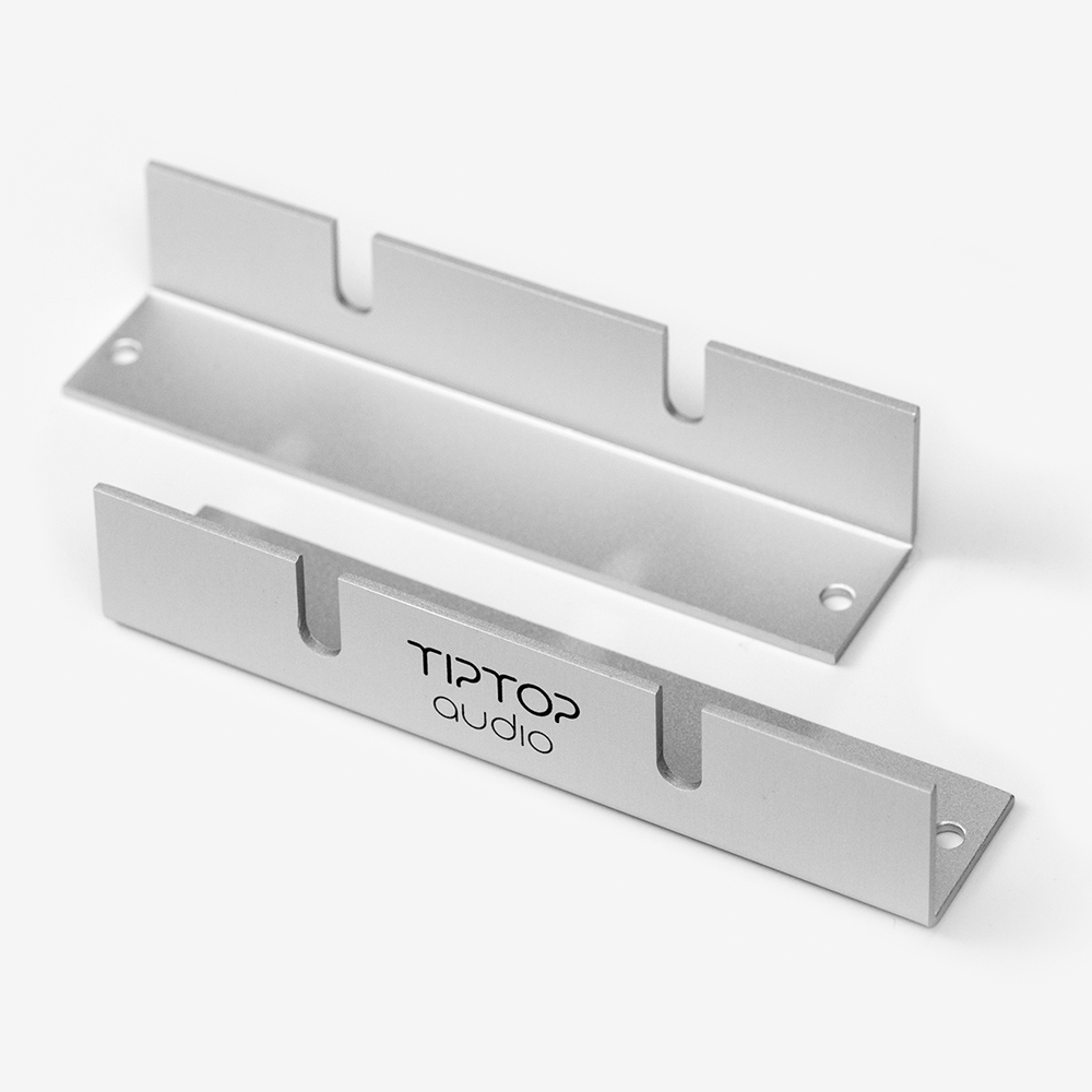Tiptop Audio Z-Ears Rackmount Pair - Silver