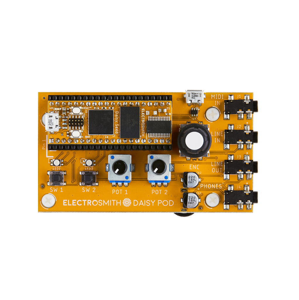 Electro-Smith Daisy Pod Breakout Board