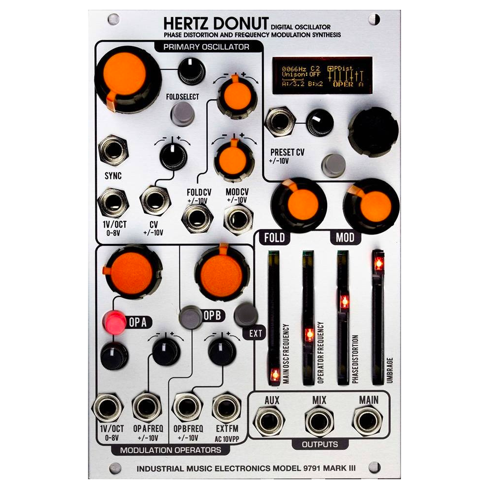 Industrial Music Electronics Hertz Donut Mark III