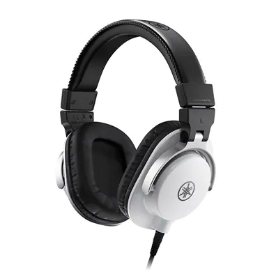 Yamaha HPH-MT5W Studio Monitor Headphones (White)