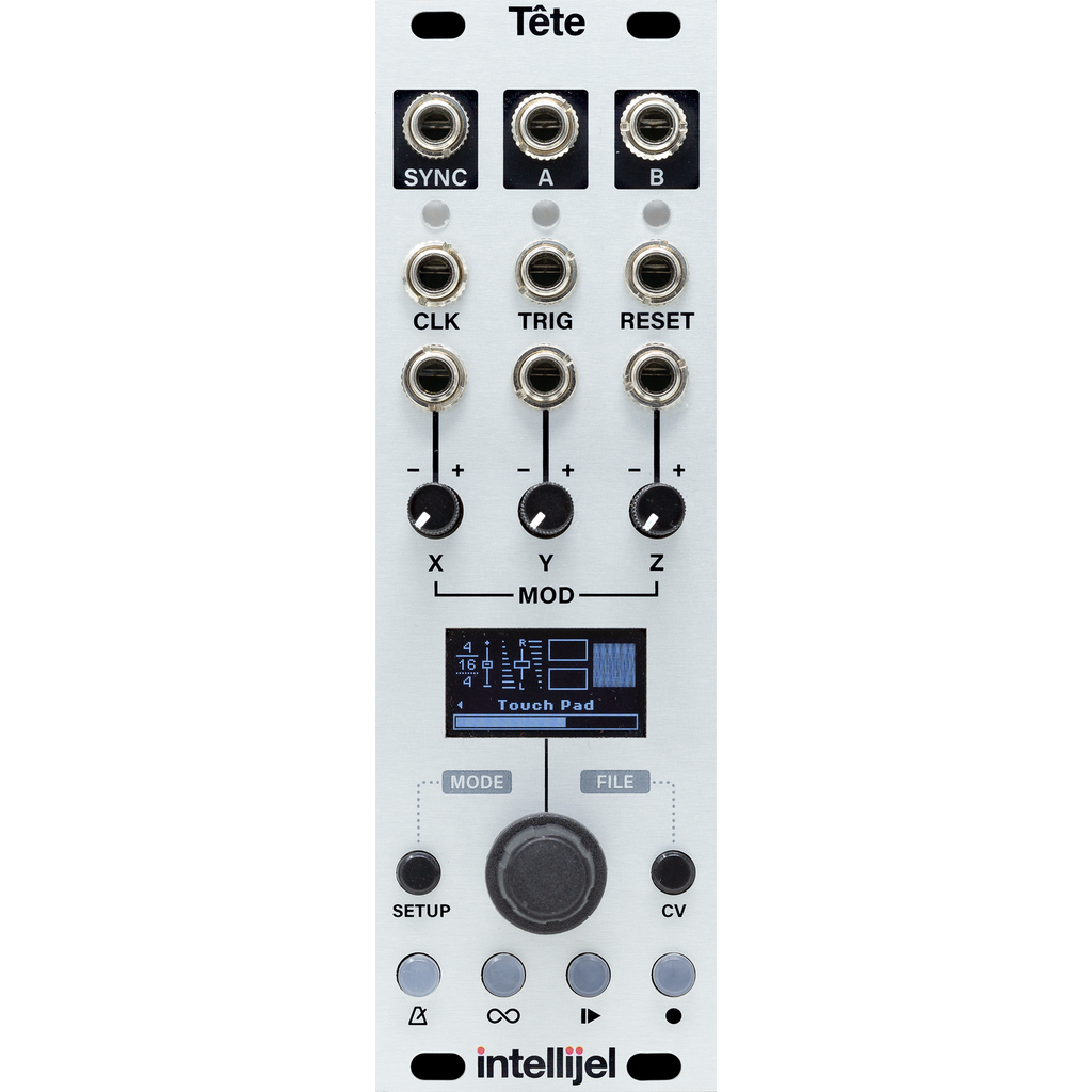 Intellijel Tête expander for Tetrapad