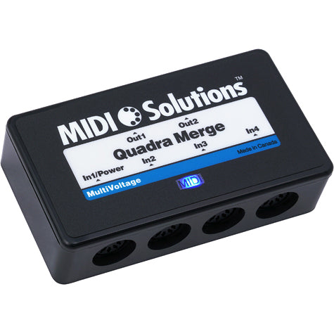 MIDI Solutions MultiVoltage Quadra Merge