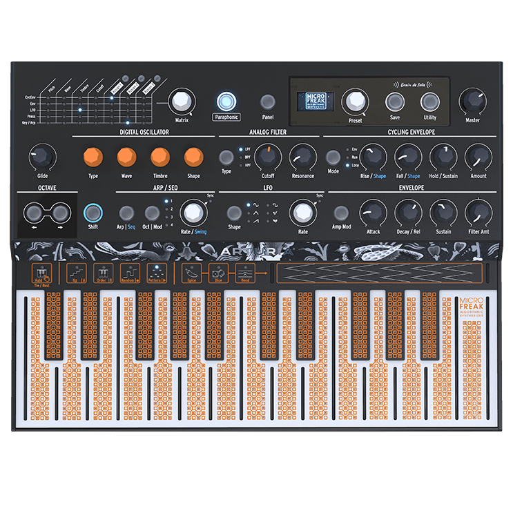 Arturia MicroFreak Hybrid Analog/Digital Synthesizer