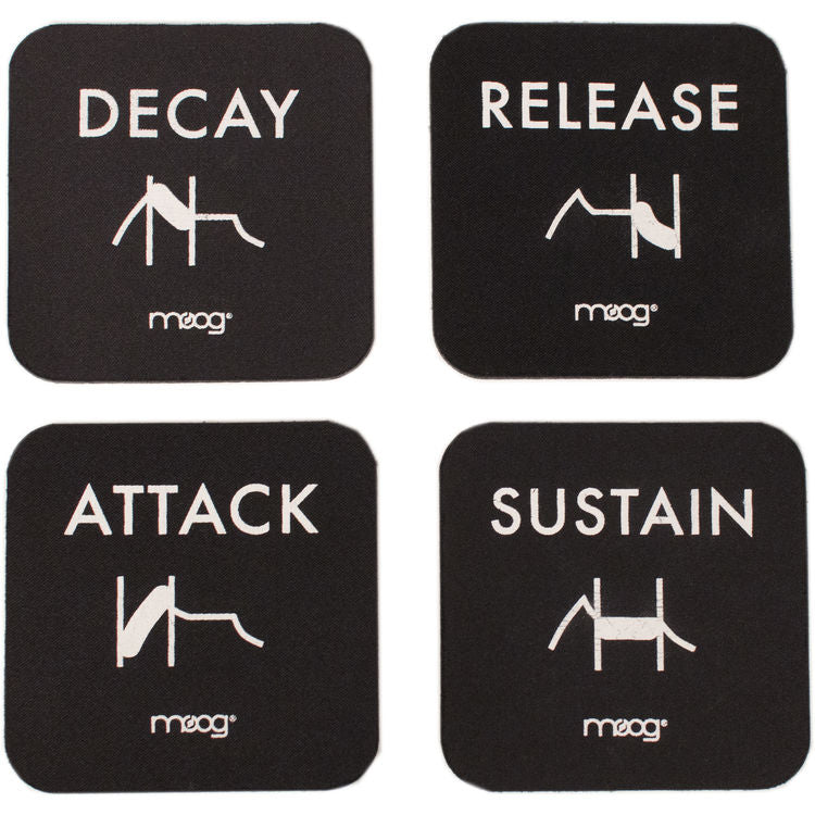Moog Coaster Set