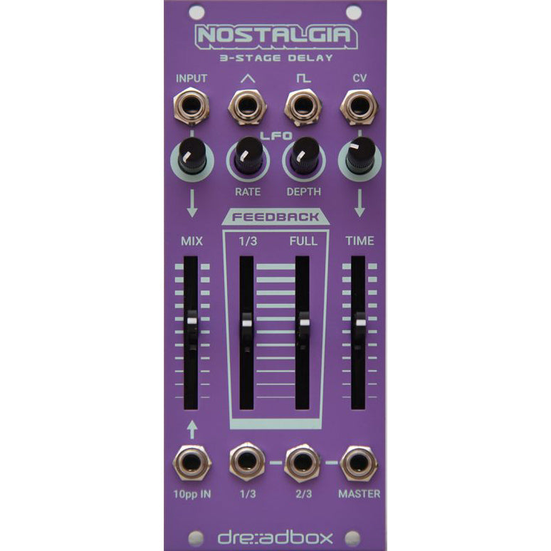 Dreadbox Nostalgia 4-Stage Delay