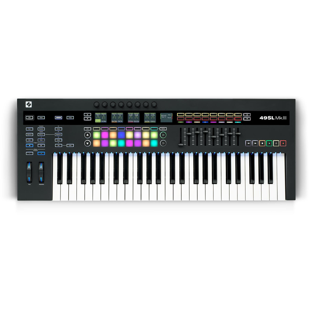 Novation 49SL MkIII Controller and Sequencer
