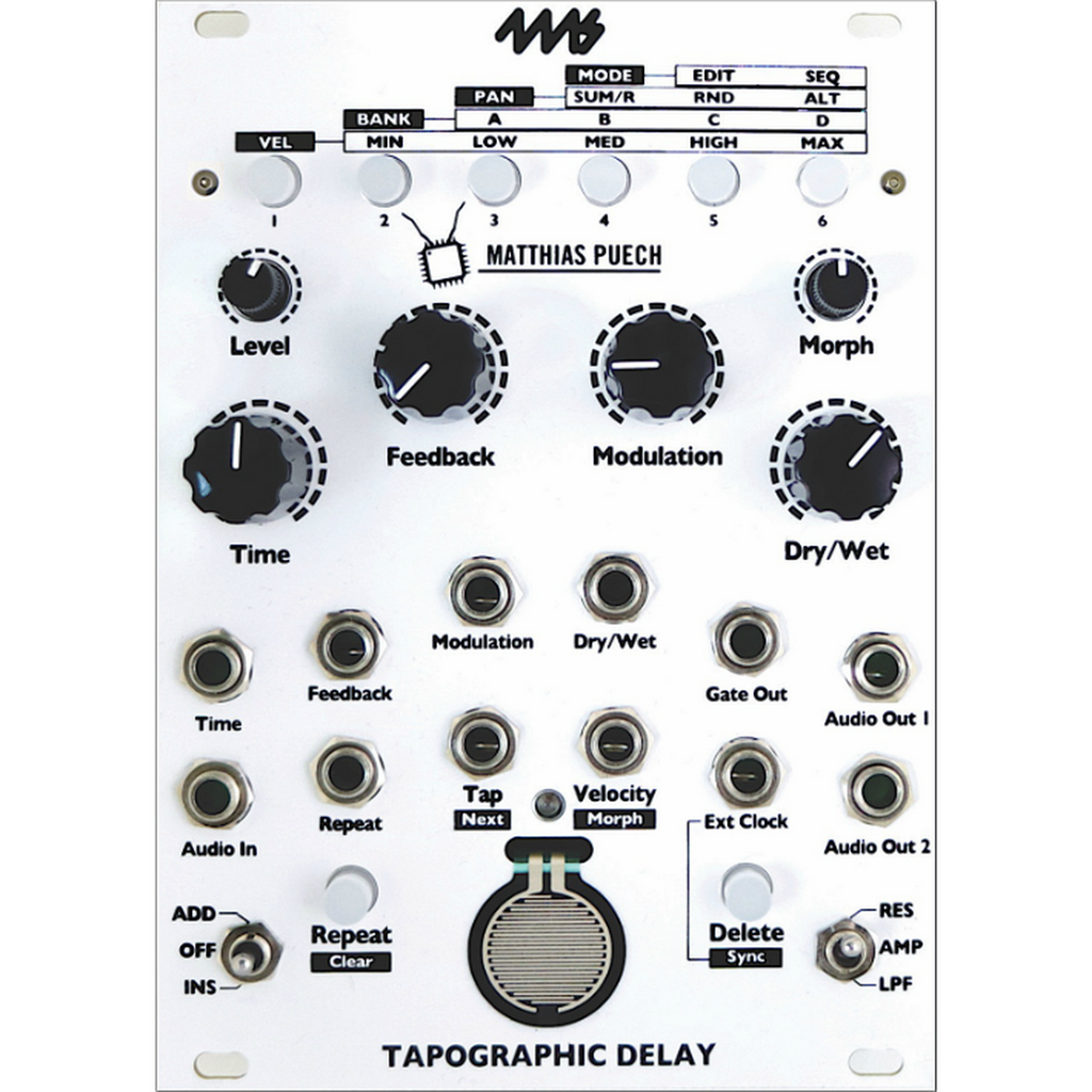 4ms Company Tapographic Delay
