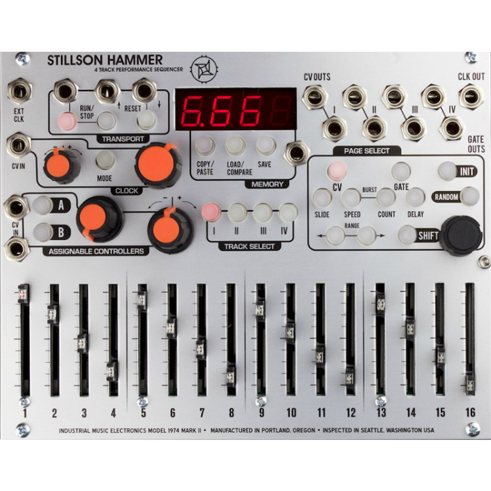 Industrial Music Electronics Stillson Hammer Mark II