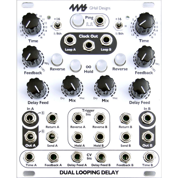 4ms Company Dual Looping Delay (DLD)