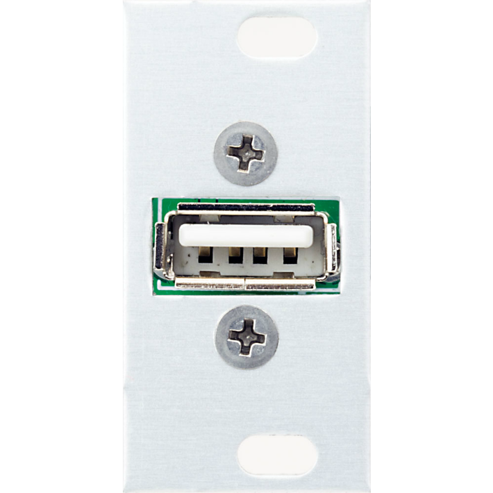 Intellijel USB Power 1U USB socket for charging/powering peripheral devices.