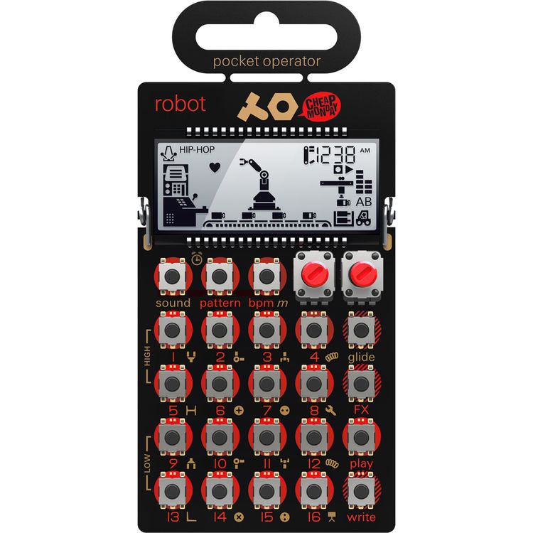 Teenage Engineering PO-28 Robot Pocket Operator