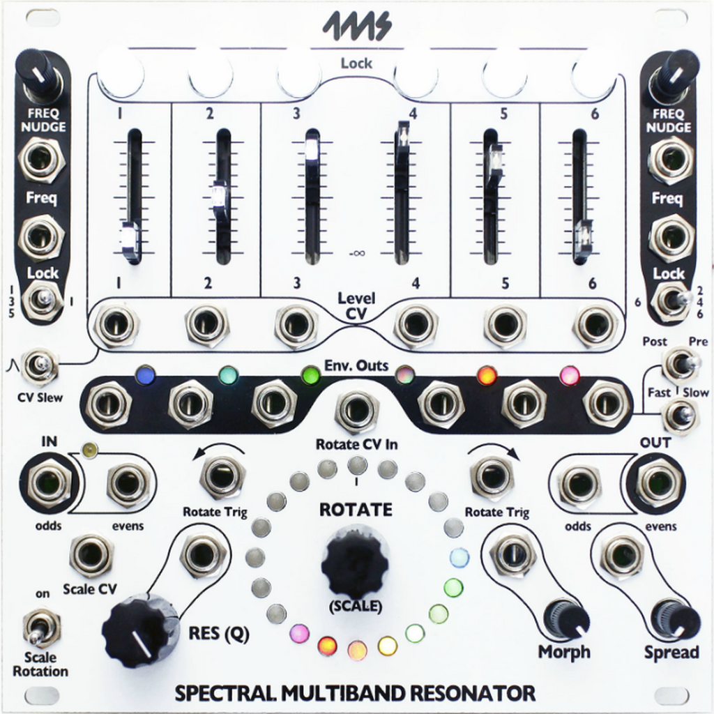4ms Company Spectral Multiband Resonator