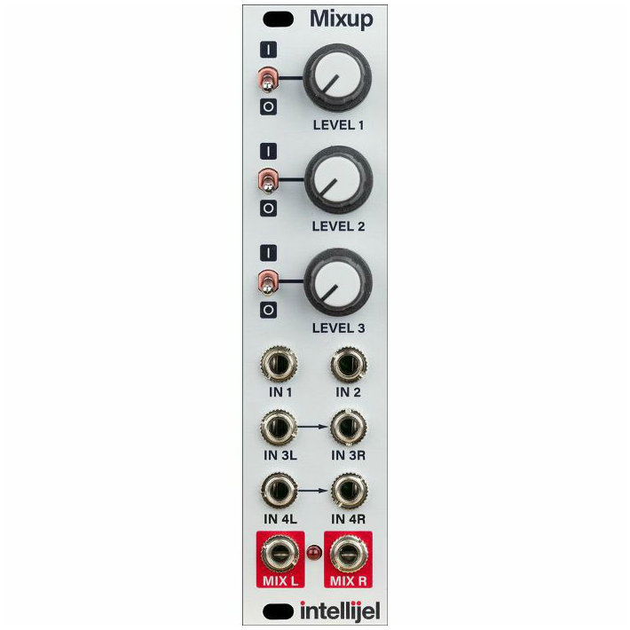 Intellijel Mixup Chainable Mono / Stereo Audio Utility Mixer