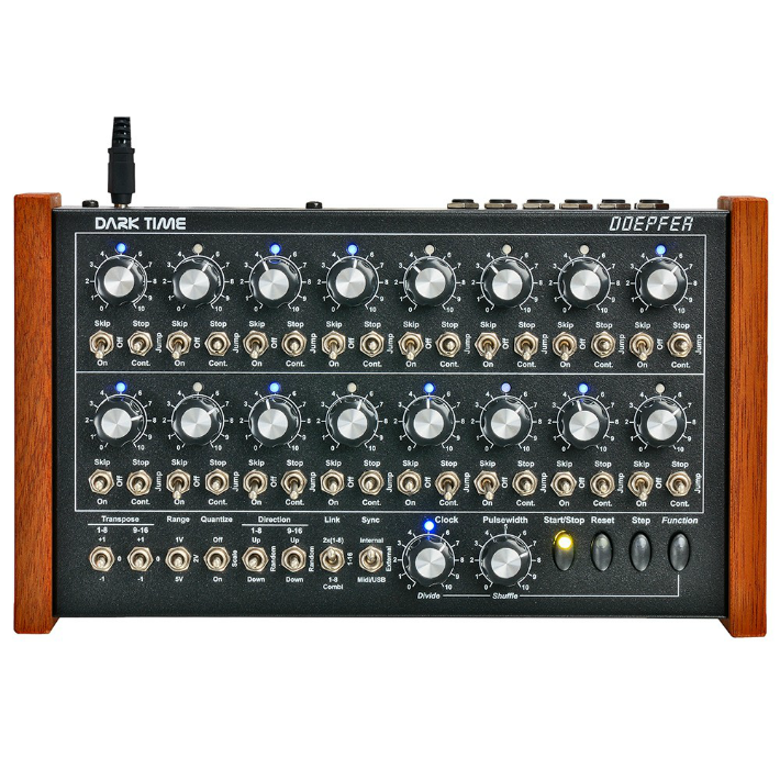 Doepfer Dark Time Blue Sequencer