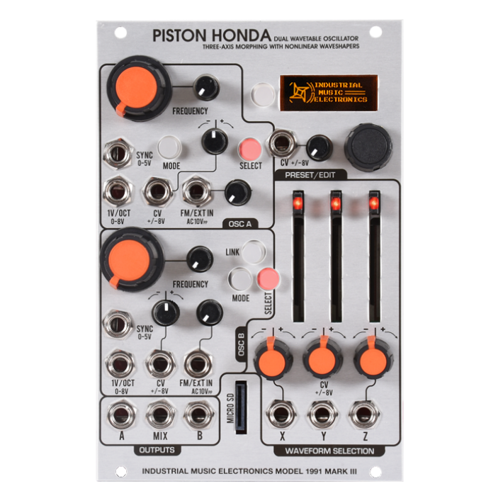 Industrial Music Electronics Piston Honda Mark III