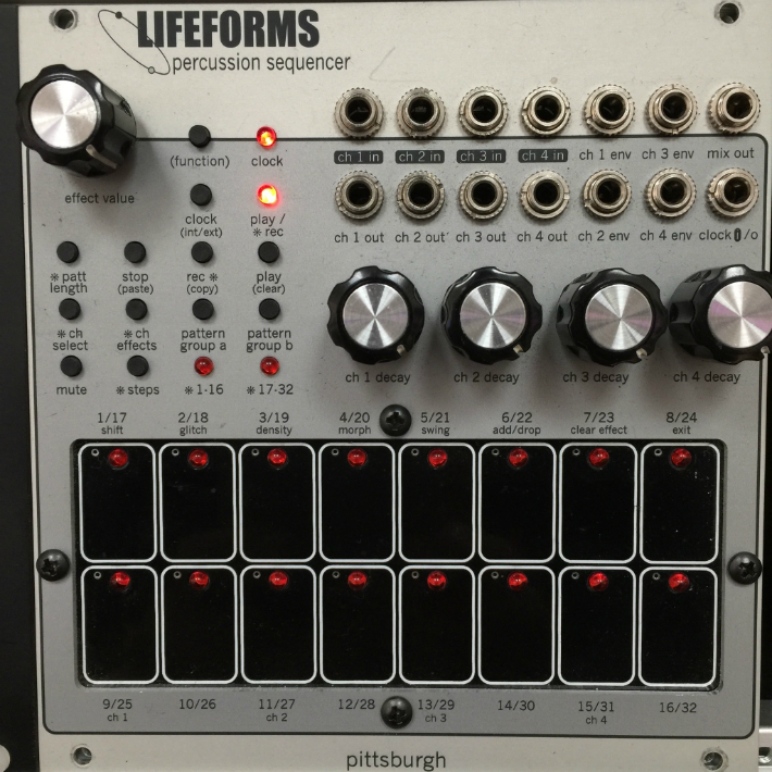 Used Pittsburgh Lifeforms Percussion Sequencer