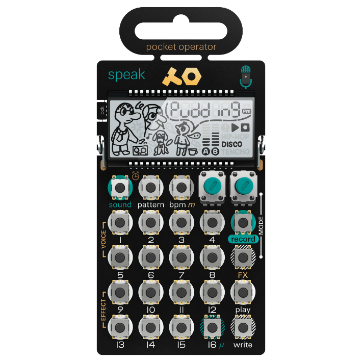 TE PO-35 Speak Pocket Operator